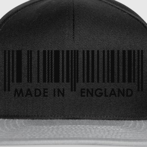Black Made in England bar code Ladies' - Snapback Cap