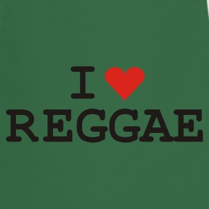 Kelly green love_reggae Girlie - Keukenschort