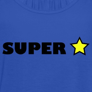 Royal blue super star T-Shirts - Women's Tank Top by Bella