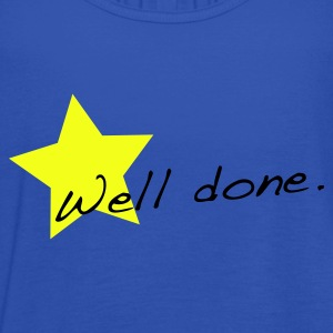 Sky Well done star T-Shirts - Women's Tank Top by Bella