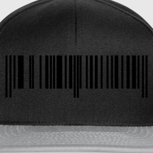 Black bar code Ladies' - Snapback Cap