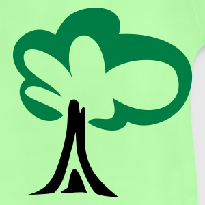 Leaf green tree Bags  - Baby T-Shirt