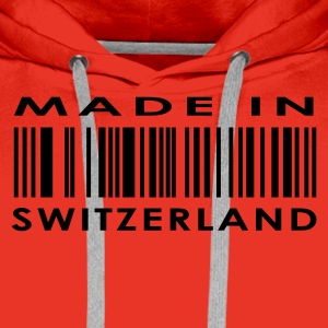 Red Made in Switzerland Ladies' - Men's Premium Hoodie