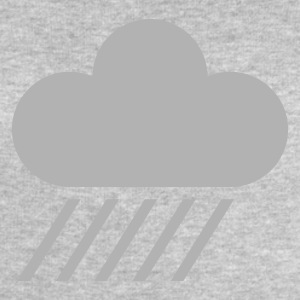Ash weather symbol - cloud & rain T-Shirts - Men's Sweatshirt by Stanley & Stella