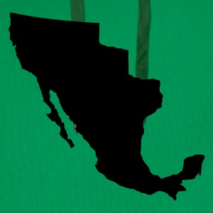 Grass green Mexico T-Shirts - Men's Premium Hoodie