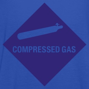 Compressed Gas T-Shirt - Women's Tank Top by Bella