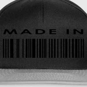 Black Bar Code Made in Ladies' - Snapback Cap
