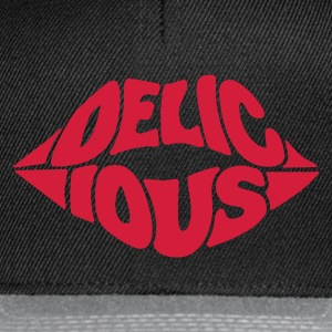 delicious kiss Tee shirts - Casquette snapback