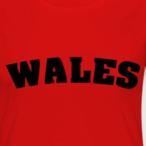 Red Wales Ladies' - Women's Premium Longsleeve Shirt