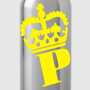 Black Prinz - Prince - Crown - King - Princess  Ladies' - Water Bottle