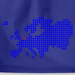 Royal blue Amsterdam Rotterdam Europe T-Shirts - Drawstring Bag
