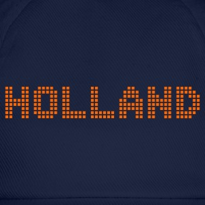 Sky Holland Netherlands Pixel T-Shirts - Baseball Cap