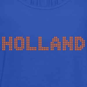 Sky Holland Netherlands Pixel T-Shirts - Women's Tank Top by Bella