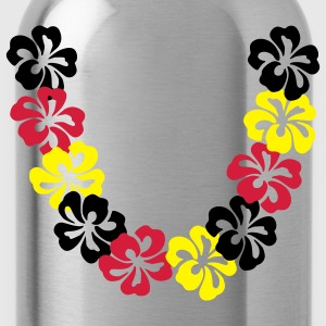 Olive Neck lace - Hawaii Flower Ladies' - Water Bottle