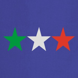 Royal blue italian stars T-Shirts - Cooking Apron