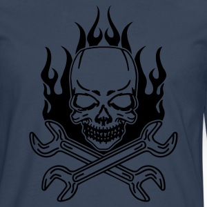 tuning skull Tee shirts - T-shirt manches longues Premium Homme