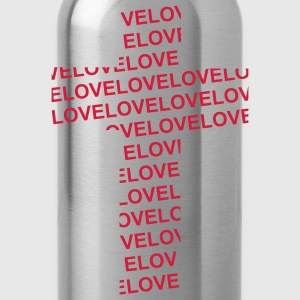 Love-Cross (JESUS-shirts) - Trinkflasche