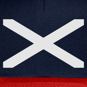 Navy Scotland Stripes T-Shirts (Kurzarm) - Snapback Cap