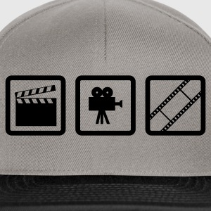 Grass grün Hollywood Gear T-Shirts (Kurzarm) - Snapback Cap