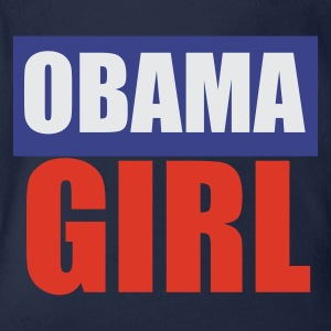 Sky Barack - Obama - Präsident - USA - Amerika - Girl Kinder Shirts - Baby Bio-Kurzarm-Body