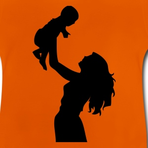 DE-Mutter mit Kind - Baby T-Shirt