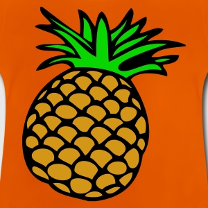 SW-Ananas - Baby-T-shirt