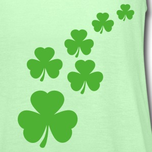 Grasgrün shamrocks T-Shirts - Frauen Tank Top von Bella