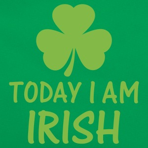 Grasgrün today i am irish T-Shirts - Retro Tasche
