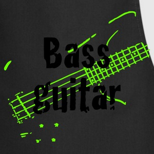 Dark navy bass_guitar T-Shirts - Kochschürze