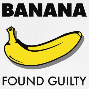 Weiß Banana found guilty © T-Shirts - Baseballcap