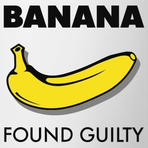 Weiß Banana found guilty © T-Shirts - Mok