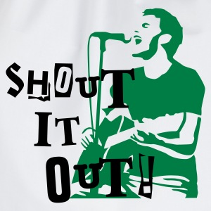 shout_it_out Magliette - Sacca sportiva