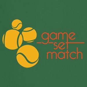TENNIS: GAME SET MATCH - Forklæde