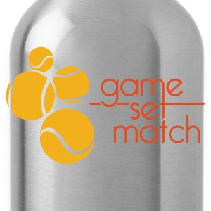 GAME SET MATCH - Water Bottle