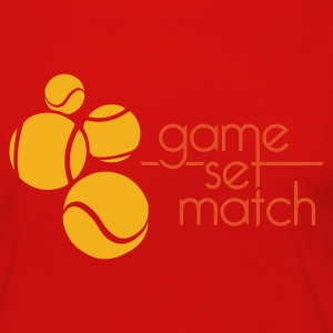 GAME SET MATCH - Women's Premium Longsleeve Shirt