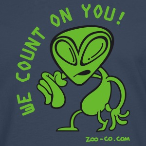 Royal blue Alien Recruiter Men's Tees - Men's Premium Longsleeve Shirt