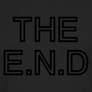 the end - Premium langermet T-skjorte for menn