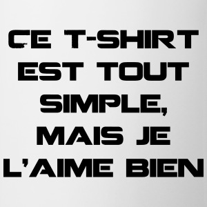 T-shirt simple - Tasse