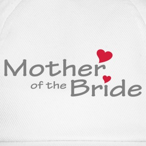 White Mother of the Bride (wedding) Women's Tees - Baseball Cap