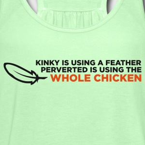 Kinky Feather 2 (ENG, 2c) - Women's Tank Top by Bella