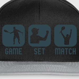 Chocolate tennis Women's T-Shirts - Snapback Cap