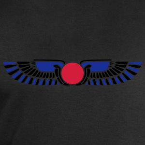 Egypt Sun Disk, Wings, symbol of protection Tee shirts - Sweat-shirt Homme Stanley & Stella