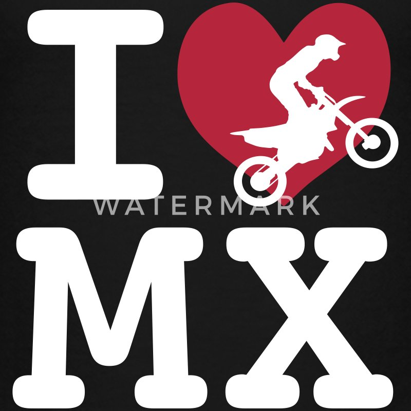 I love MX T-Shirts - Kinder Premium T-Shirt