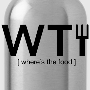WTF T-Shirts - Trinkflasche