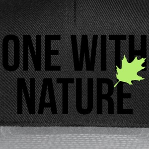 one with nature Tee shirts - Casquette snapback