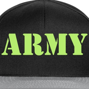 army Tee shirts - Casquette snapback