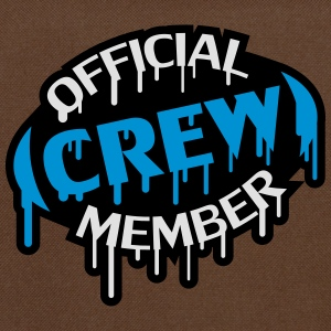 Official Crew Member Stamp T-shirts - Schoudertas