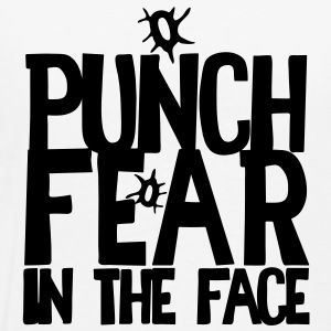 PUNCH FEAR in the face Hoodies & Sweatshirts - Men's Premium T-Shirt