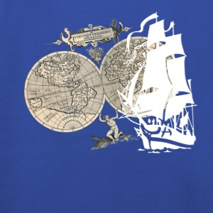 Ship + Map T-Shirts - Kids' Premium Hoodie