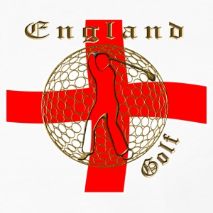 England Saint George golf Polo Shirts - Men's Premium Longsleeve Shirt